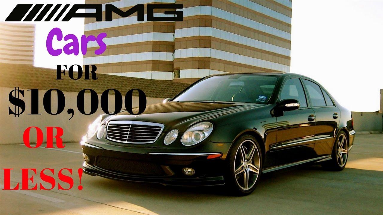 Fast Mercedes Benz's under $10k! - YouTube