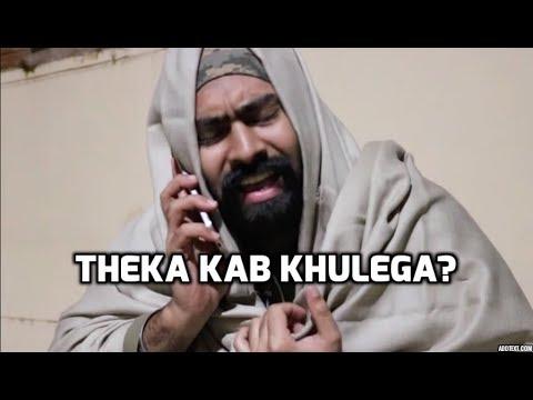 Sharabi v/s Theka Owner   Funny comedy vine   Harshdeep ...