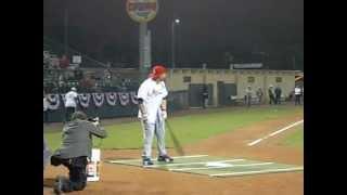 Yadier Molina Softball Home Run Derby - Daytona Beach 12/7/12