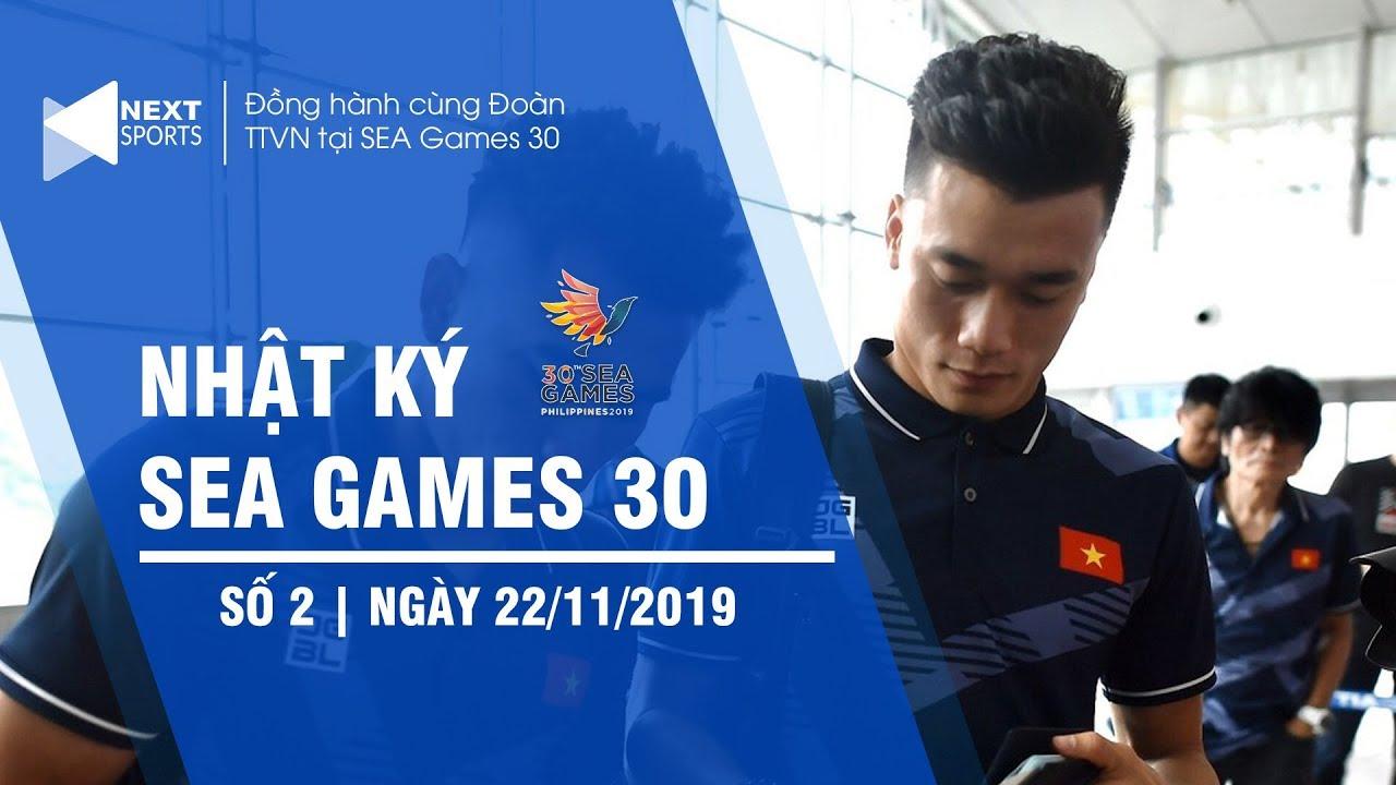 Nhật ký SEA Games 30 ngày 22/11 | U22 Việt Nam đến Philippines, chốt số áo thi đấu | NEXT SPORTS