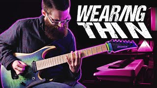 Hollow Front - Wearing Thin   Cinematic Guitar Cover by Brandon Burch