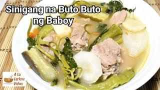 Sinigang na Baboy  Buto buto ng Baboy Recipe