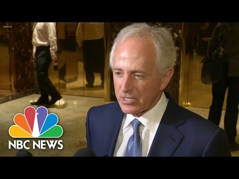 Bob Corker On Secretary Of State Prospect: 'I'm Here' But It's Donald Trump's Decision | NBC News