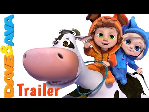 Hey Diddle Diddle - Trailer | Nursery Rhymes and Baby Songs from Dave and Ava