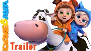 Hey Diddle Diddle - Trailer | Nursery Rhymes and Baby Songs from Dave and Ava thumbnail