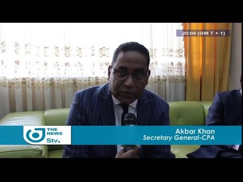 STV NEWS 08:00 PM - (SG of COMMONWEALTH PARLIAMENT in CAMEROON) - 24th January 2018 - Peter NSOESIE