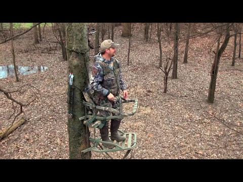 Hunting Deer Along The Mississippi River