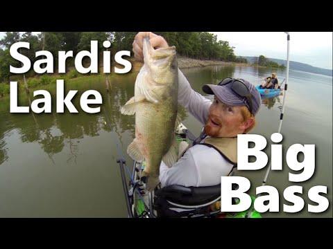 Kayak fishing oklahoma sardis lake youtube for Sardis lake fishing report