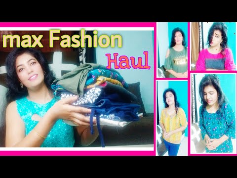 max Fashion Haul // 10 Clothing Items // Huge Haul // reasonable price // AMS WORLD
