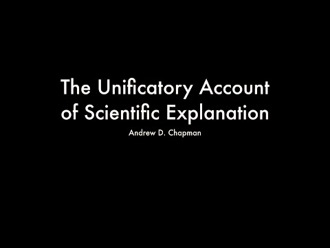 The Unificatory Account of Scientific Explanation