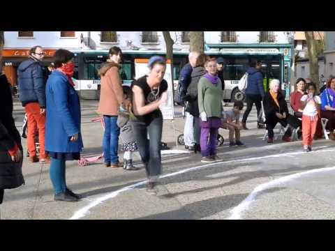 Planetary Dance 11 mars 2017 - Groupe ARTivisme – Montreuil