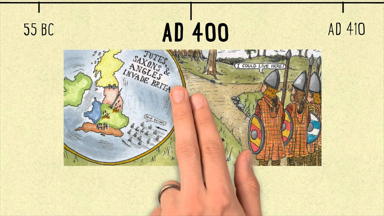 Anglo Saxon and Viking timeline | Trailer Video | Year 4 - YouTube