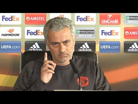 Jose Mourinho Full Pre-Match Press Conference - Manchester United v Anderlecht - Europa League