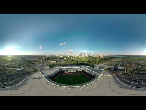 FIFA Confederations Cup 2017: Spartak stadium (360 VIDEO)