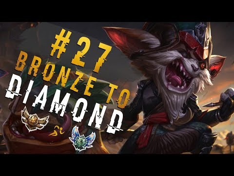 My 2nd Favourite Champ In This Series! | Depths of Bronze to Diamond Episode #26 | Kled