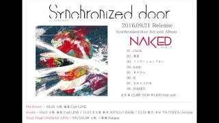2016.09.21 Release Synchronized door (シンクロナイズドア) 3rd mini ...