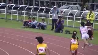 20140509-全國國小全國小學田徑錦標賽-屏東縣代表隊女童400公尺大隊接力預賽