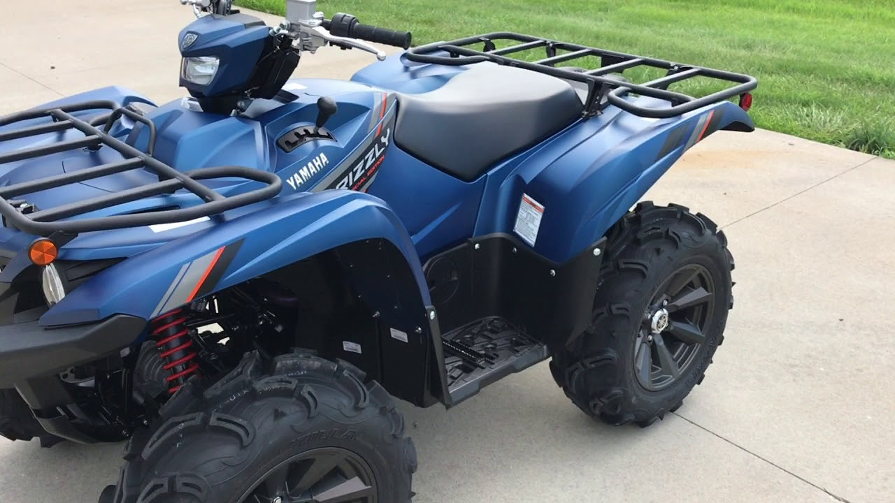 2019 Yamaha Grizzly EPS SE - Quick walk around and startup