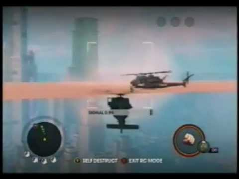 SAINTS ROW 3 SECRET FLOATING PLATFORM