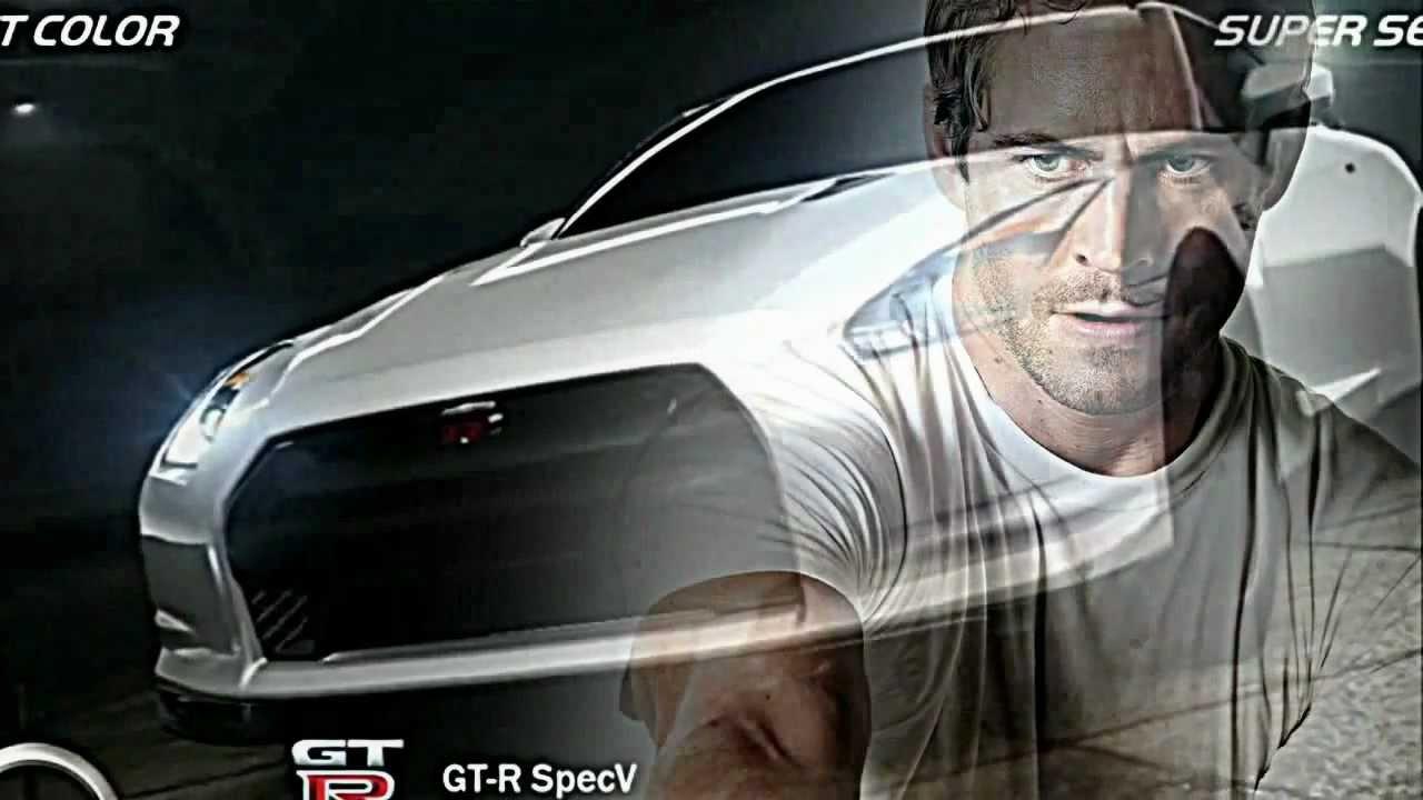 Brian O Conner Nissan Skyline Gt R R35 Youtube