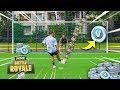 1 Tor = 1000 V-bucks Fortnite Fußball Challenge!!! *verlosung*