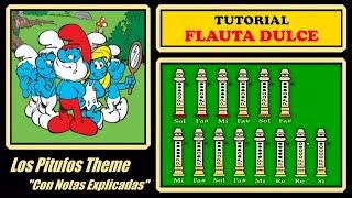 Los Pitufos en Flauta Dulce