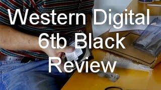 WD western digital 6tb black hard drive review