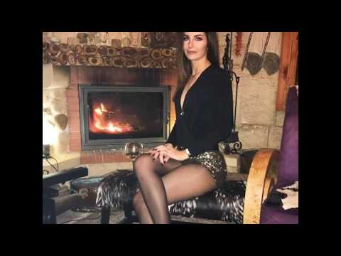💥Hot Sexy amazing legs in pantyhose thumbnail