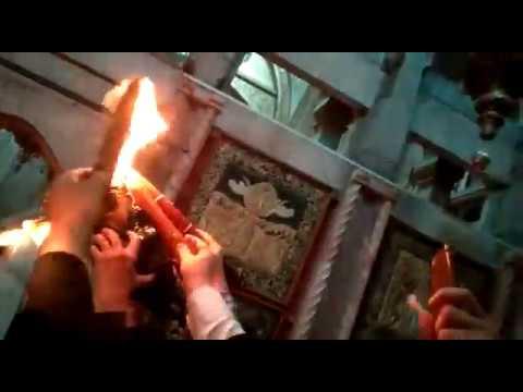 Благодатный огонь в Иерусалиме-2019