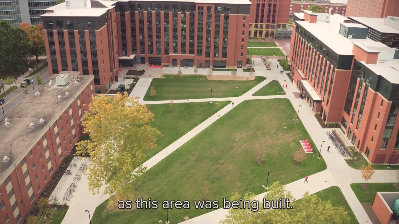Ohio State S North Residential District Youtube