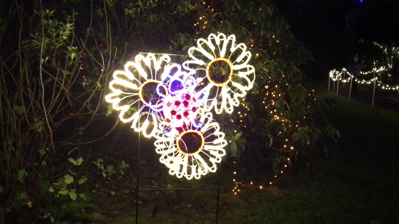Shore Acres Christmas Lights 2016 - YouTube