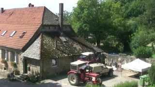 Dreharbeiten zum Kinofilm Ostwind 2 in Immenhausen