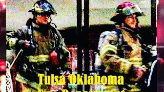 Smoke and fire called in at Tulsa OK Wyndham