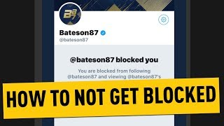 Video How To Not Get Blocked By Bateson download MP3, 3GP, MP4, WEBM, AVI, FLV Juli 2018
