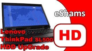 видео Разобрать ноутбук Леново ThinkPad SL500. Замена южного моста с гарантией