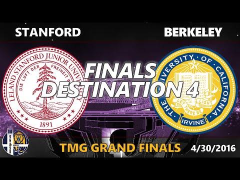 Finals Destination 4 - TMG Grand Finals: Stanford vs. Berkeley