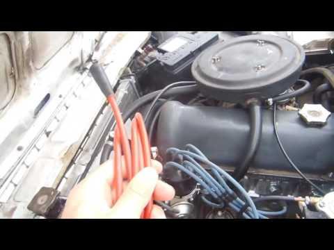 Троит двигатель ВАЗ 2107-2101, высоковольтные провода, делаем сами