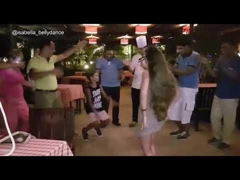 احمد شيبة - اه لو لعبت يا زهر - Ahmed Sheba - Ah Lwo L3bt Ya Zahr - Belly Dancer Isabella Egypt 2017