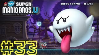 New Super Mario Bros. U -- Frosted Glacier-Ghost House: Swaying Ghost House