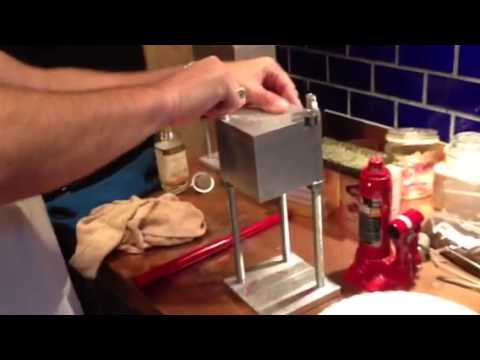 the big daddy 2 ton pollen press part 1 youtube. Black Bedroom Furniture Sets. Home Design Ideas
