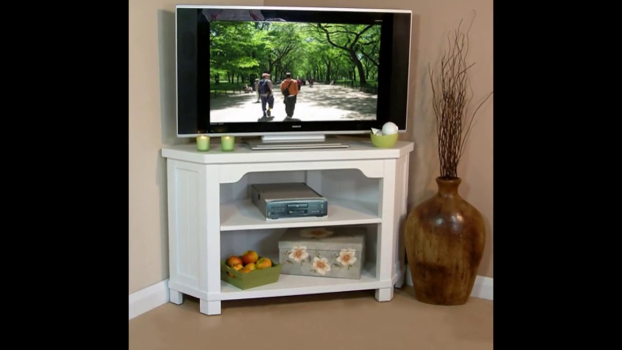 gorgeous white corner tv stand design ideas youtube rh youtube com corner wall tv design ideas tv corner ideas
