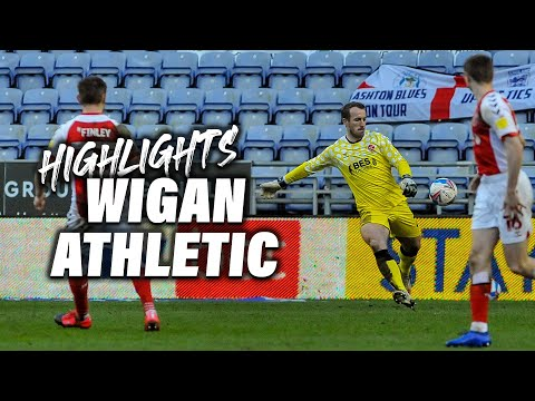 Wigan Fleetwood Town Goals And Highlights