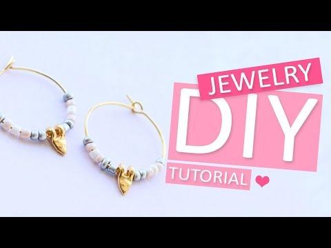 DIY Tutorial - Kettelstift oorbel maken - Zelf sieraden maken