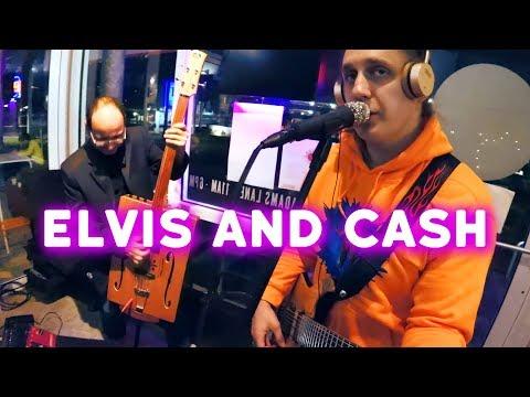 Elvis Presley and Johnny Cash mashup medley