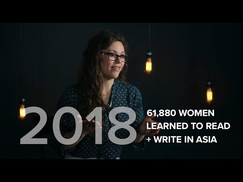 61,880 Women Learned to Read and Write in 2018!
