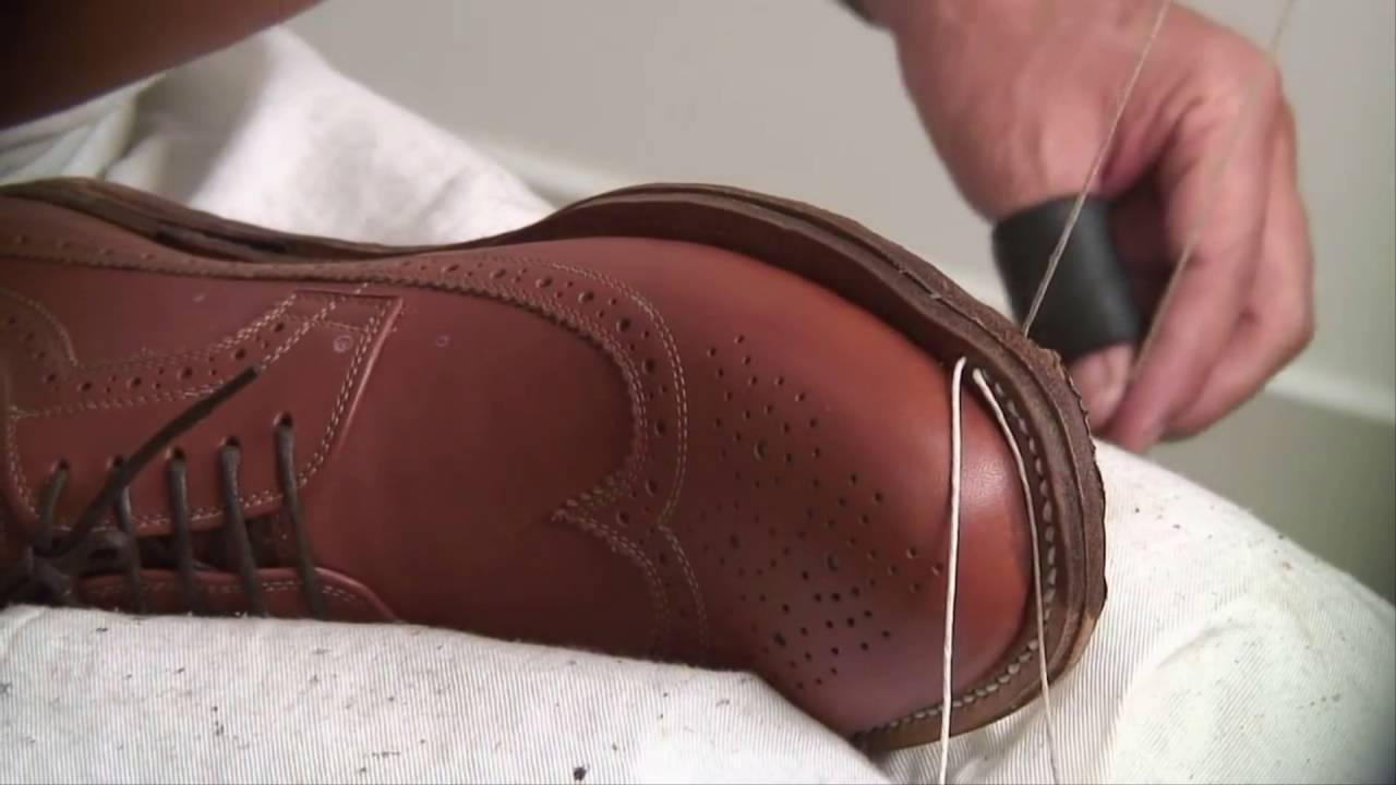 Quy trình sản xuất giày da nam cao cấp Scorpion