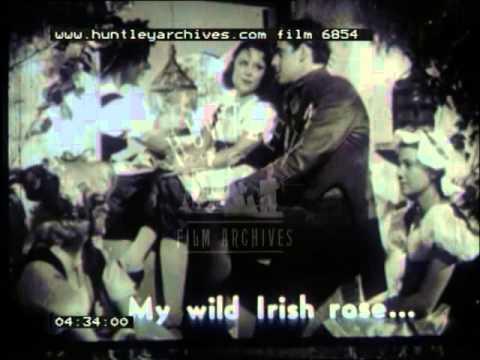 Irish Songs, 1950's - Film 6854