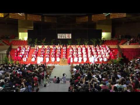 2016 Kahuku High School Senior Medley