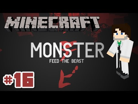 Minecraft FTB Monster SMP - Ep 16 - Lamp of Growth Signs