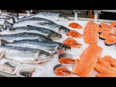 Fish #Salmon fish # Speciality #Cleaning @ Doha